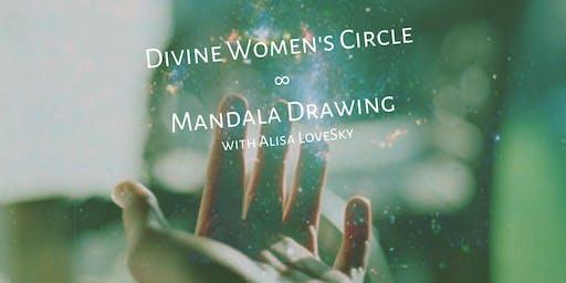 Divine Women's Circle & Mandala Drawing