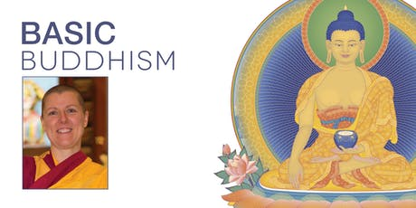 Basic Buddhism: half-day course with Buddhist nun Kelsang Chogma tickets