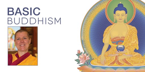 Basic Buddhism: half-day course with Buddhist nun Kelsang Chogma