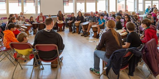 Djembe Drumming Workshop with Tribal Vibes - FREE (Duffield Arts Festival)