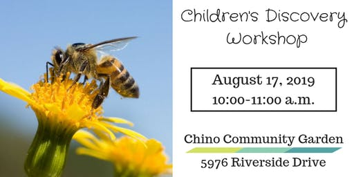 Children's Discovery Workshop-Be a Bee!
