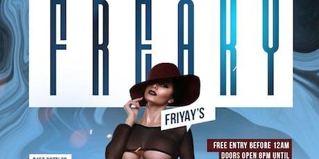"""FREAKY FRIYAY'S AT THE JUICY BOX BAR """"LADIES NIGHTS"""" tickets"""