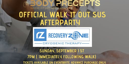 Walk It Out Sus Summer Series Finale: AFTER PARTY