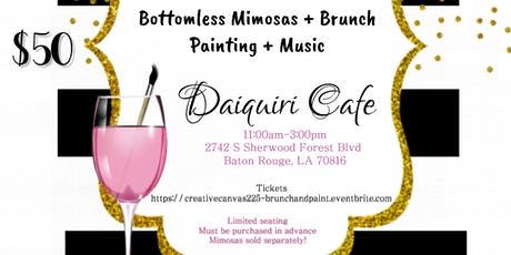 Creative Canvas - Brunch & Paint tickets