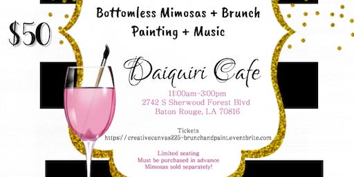 Creative Canvas - Brunch & Paint