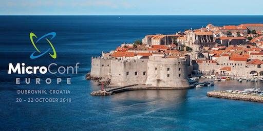 MicroConf Europe 2019