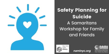 Safety Planning for Suicide - A Samaritans Workshop for Family and Friends tickets