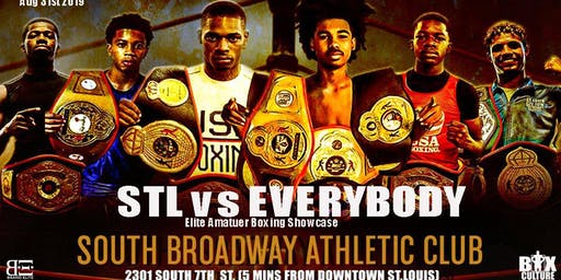 "STL vs Everybody ""Elite Amatuer Boxing Showcase"""