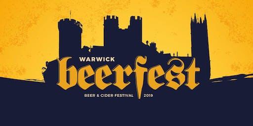 Warwick Beer Fest 2019
