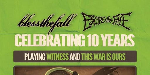 blessthefall - Escape The Fate @ The Orpheum