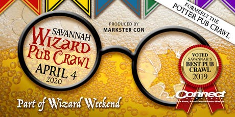 Wizard Pub Crawl (Savannah, GA) tickets