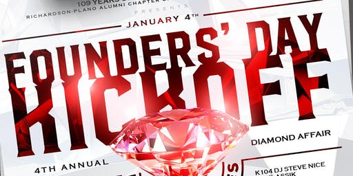 """Kappa Alpha Psi """"Diamond Affair"""" Founders' Day Kick-Off @ House of Nupes - 109 Years of Achievement Celebration"""