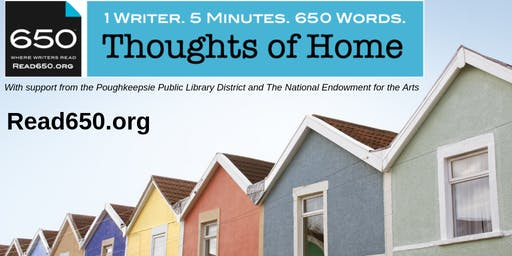 Thoughts of Home • A Live Spoken Word Event