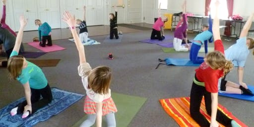 Yoga for Kids and Families, August 2019