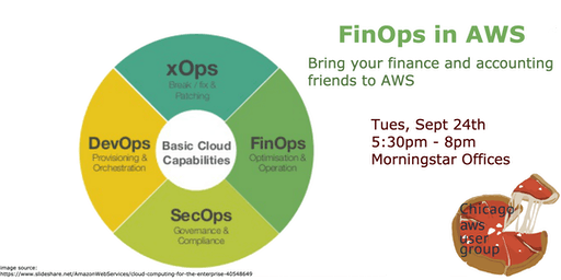 FinOps in AWS - managing cost, spending, and budgets in AWS accounts