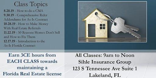 Robert Gress Oct.: LAKELAND: Making Money With Real Estate Referrals