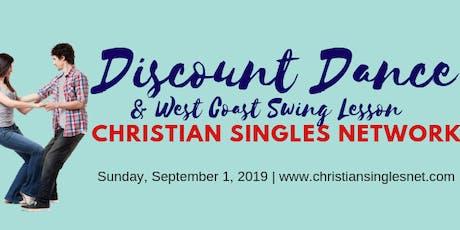September Discount Dance tickets