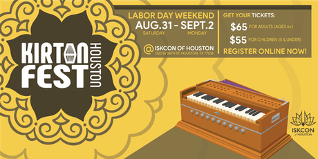 Kirtan Fest Houston 2019 tickets