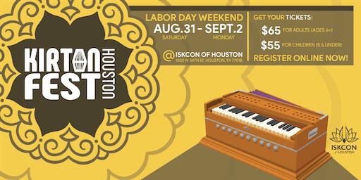 Kirtan Fest Houston 2019