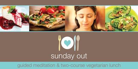 Sunday Out NOV - Meditation & Veggie Lunch tickets