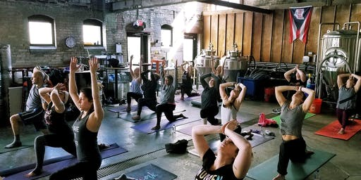 Yoga at Platform Beer Co with AR Snavley Fitness