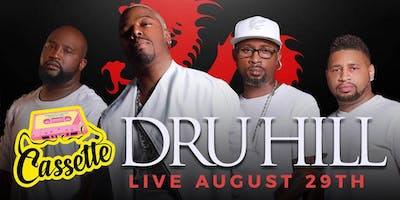 Dru Hill Live Cassette Atlanta Labor Day Kickoff Limited Early Bird Tickets