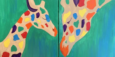 Paint with me! Kids & Parents Collaboration painting  tickets