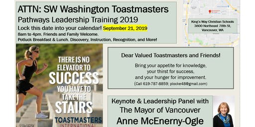 Toastmasters Invitational. A Day of Discovery, Instruction, and Recognition