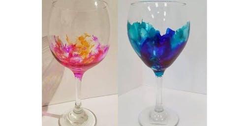 Ink & Drink: Wine Glasses