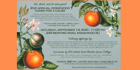 Ridgewood Cooks for a Cause 2 tickets