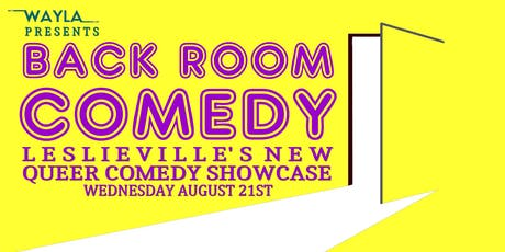 Back Room Comedy - Headliner PATRICK ALEXANDER tickets