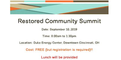 Restored Community Summit - 2019 Cincinnati, Ohio