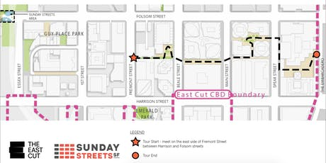 Sunday Streets SoMa: The East Cut Open Space Tour! tickets