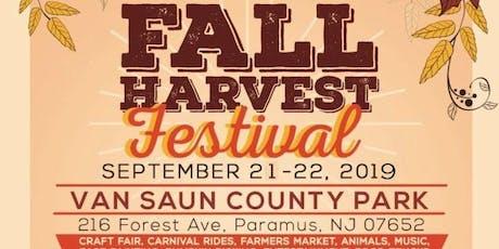 Bergen County Harvest Fest tickets