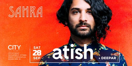 Sahra : atish at City At Night  tickets