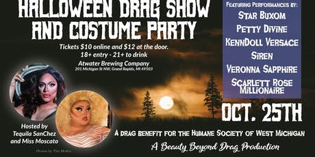 Halloween Drag Show and Costume Party tickets