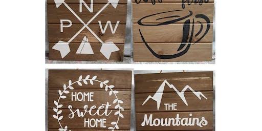 Sign Paint & Sip