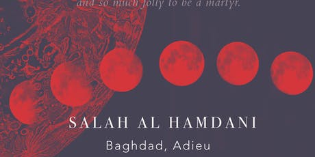 BOOK READING | Baghdad, Adieu tickets