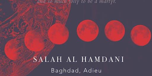 BOOK READING   Baghdad, Adieu