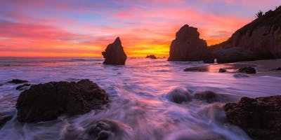 Essentials of Seascape Photography Lecture and Workshop with Chris Crosby - LA