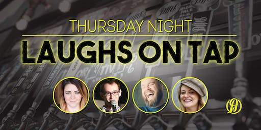 Laughs on Tap at Alter Brewing Co.