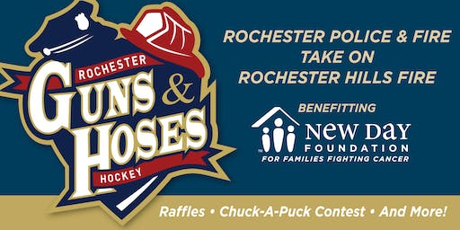 Guns and Hoses Hills Charity Hockey Game