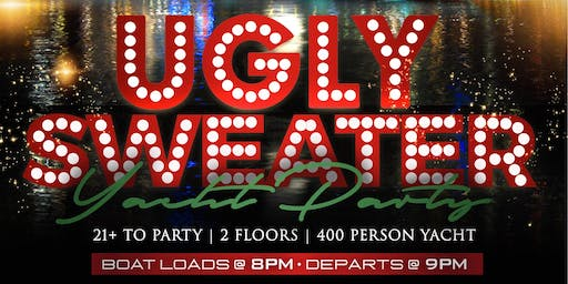 UGLY SWEATER YACHT PARTY