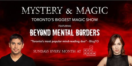 Mystery & Magic at The Rec Room - October tickets