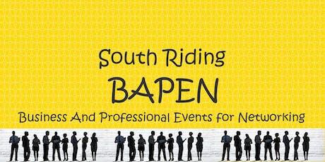 South Riding BAPEN Nework Event tickets