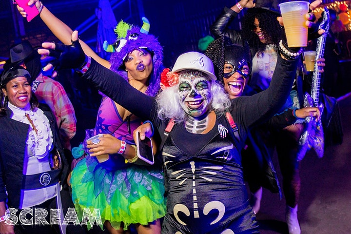 SCREAM - The Best Halloween Party. image