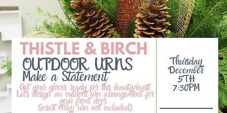 Urn Design Workshop tickets
