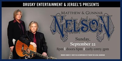 An Evening with Matthew and Gunnar Nelson