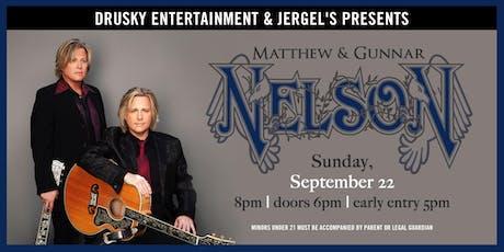 An Evening with Matthew and Gunnar Nelson tickets