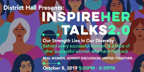 inspireHER TALKS 2.0: Café Night at District Hall tickets